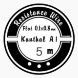 Ribbon Kanthal A-1 0.8 x 0.1mm 18.66ohm/m
